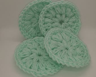 Set of 4 Facial Scrubbies