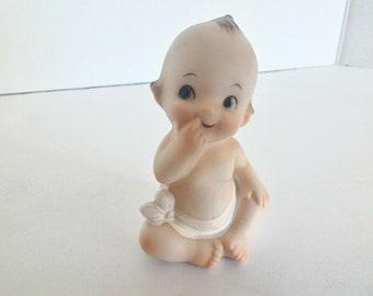 Kelvins Kewpie Porcelain Baby Figurine