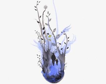 wild blue yonder - print