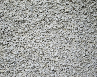 "5 Quarts- Horticultural Grade PUMICE -3/8 - 1/16"" For Soil Mix, Bonsai, Cactus and Succulents"