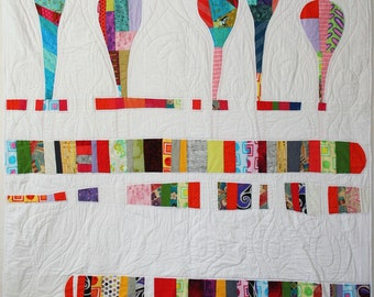 Happy Thoughts Artistic Quilt