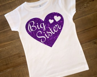 Big Sister Shirt heart