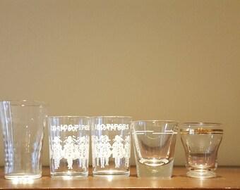5 Shot Glasses