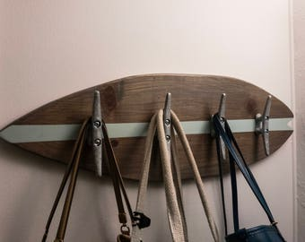 Surfboard Coat / Purse Rack