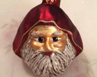 Handmade Kris Kringle Father Christmas Santa Claus European Santa Christmas Ornament