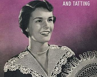 Fine Crochet and Tatting Patterns, Coats & Clark Book No.259, PDF