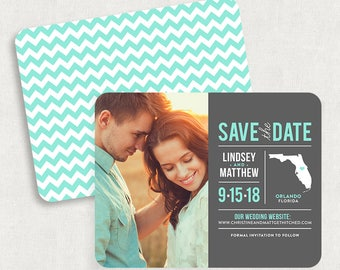 Florida Save the Dates, Destination Save the Dates, State Save the Dates, Florida Save the Date Magnets, State Save the Date Magnets, Prints
