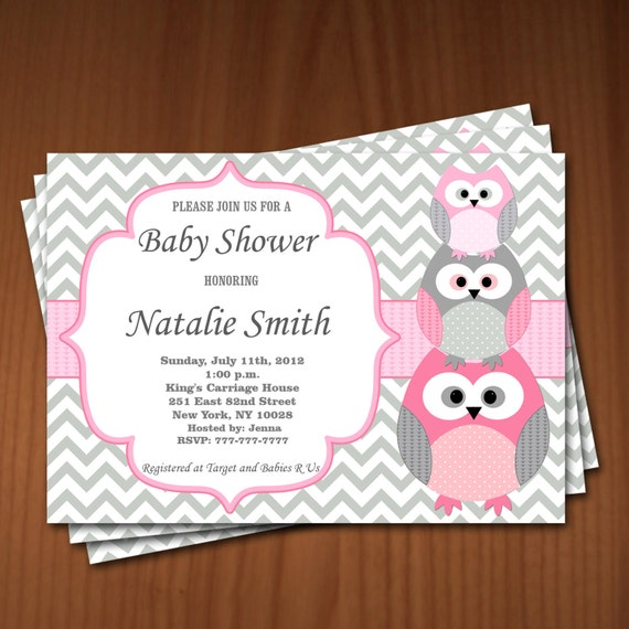 Owl baby shower invitation girl baby shower invitations owl baby shower invitation girl baby shower invitations printable baby shower invite free thank you card editable pdf download 534 rose filmwisefo Image collections