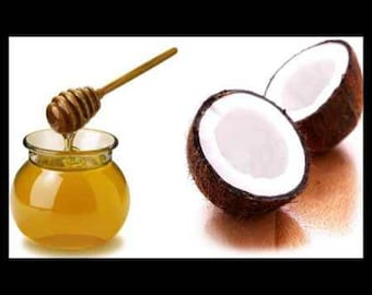 Coconut and honey mask