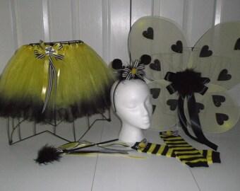 Little Bumble Bee  Halloween    tutu set