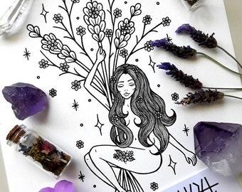 Lavender Nymph