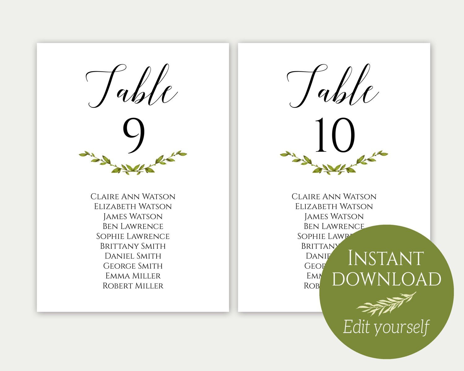 Wedding seating chart template seating cards seating chart zoom nvjuhfo Gallery