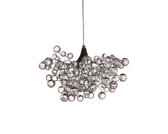 Lighting   Hanging Chandeliers With Clear Transparent Bubbles For  Bedroom,Dining Table.