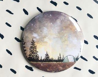 Autumn Camping Magnet