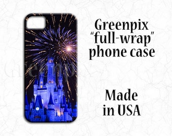 Disney iPhone X case, Disney iPhone 8 case, Disney iPhone 7 case, Disney iPhone 6 case, iPhone 6S, iPhone 7 Plus, iPhone 8 Plus, fireworks