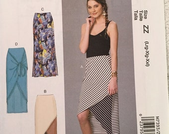 McCall's Sewing Pattern M7393 ZZ Misses' Skirts New UNCUT