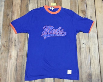 Vintage 90s New York Mets Shirt Baseball Shirt Graphic Tee / 1990s Sports Retro Tshirt 90s Vintage Blue T Shirt Sports Small s clmXa9MKP