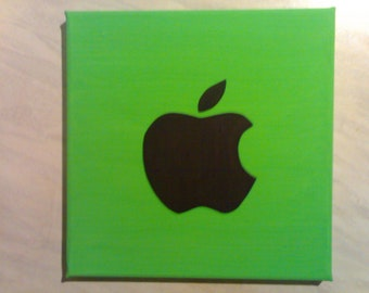 Apple - Painting On Canvas By R. McCutcheon