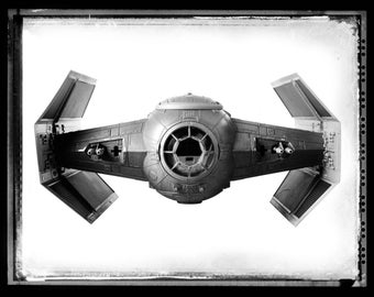 Star Wars Tie Fighter Art Print Photograph