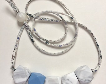 Teething necklace for mom - nursing necklace for mom - breastfeeding mom necklace - baby shower gift - new mom gift