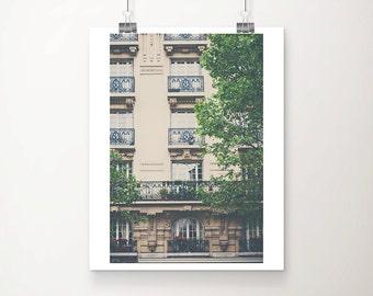 Paris photography, Paris apartment, Montparnasse photograph, Paris decor, travel photography, Paris in the spring, French decor