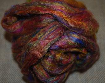 Recycled Sari silk sliver 2
