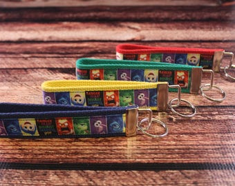 Inside Out Inspired Key Fob