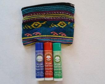 Organic Hemp Lip Balm 3 Pack With Pouch