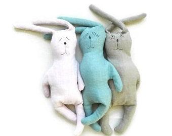 eco toys for babies-eco friendly-bunny-eco toy-baby toy-bunny toy-animal toy-bunny rabbit-stuffed toy-handmade toy-waldorf toys-eco-friendly