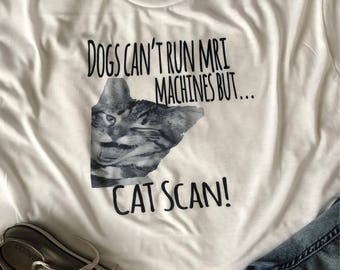 Dad Joke Tee, Catscan, White, SALE