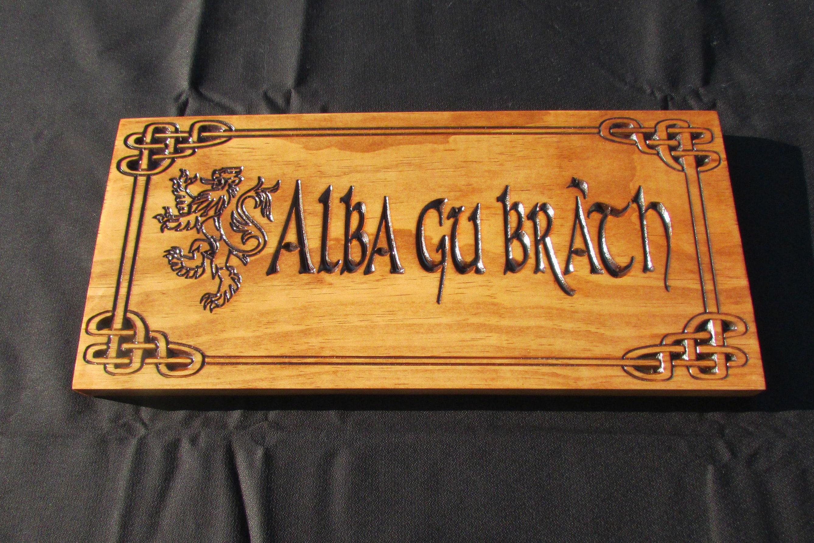 Scotland Forever Alba Gu Brath Scotland Pride Scottish