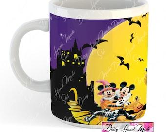 Disney halloween mug Custom mug, personalized mug coffee mug tea mug, drinking mug, gift mug, mug, mugs, mug, family graphics