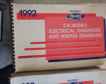 1992 chevrolet electrical diagnosis and diagrams - C/K models