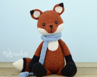 Crochet Pattern - Fox Victor