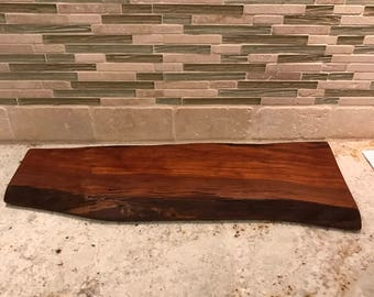 Live edge Cherry serving tray