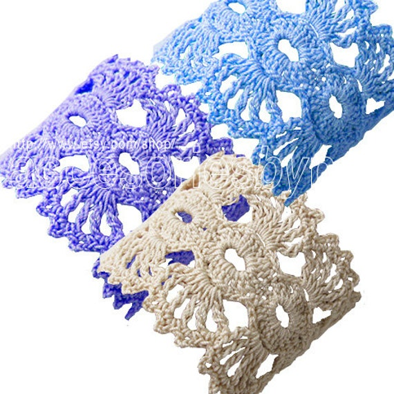 Diy Projects Crochet Pattern Crochet Cuff Pattern Bracelet