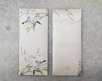 Custom Wedding Money Envelopes , Money Envelope , Money Pocket , Gift , Envelopes - set of 20