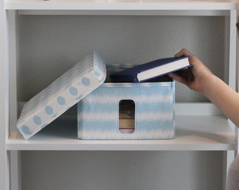 Small Storage Container With Window by Dena Fishbein