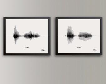 Heartbeat Line Art : Sound wave art prints personalized gifts by artsyvoiceprint