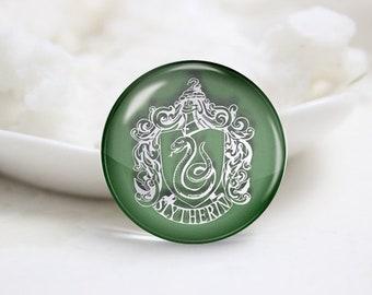 Handmade Round Harry Potter Photo glass Cabochons (P3897)
