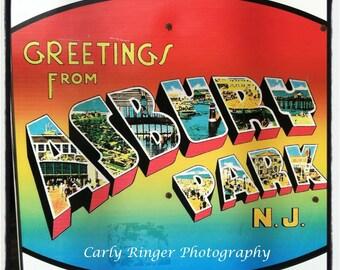 Shore - Asbury Park Welcome Sign Coaster