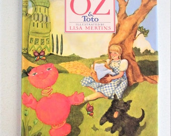 The SillyOZbul of OZ and Toto by Roger S. Baum Signed by Author Illustrated by Lisa Mertins Hardcover