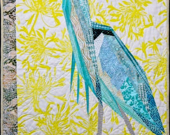 Great Blue Heron Quilt Pattern