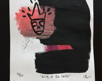 Original art : King of the Castle