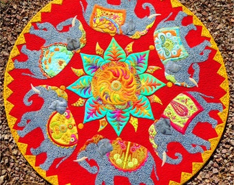 The Last Marigold PDF quilt pattern