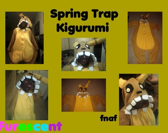 FIVE NIGHTS at FREDDYS Spring Trap Kigurumi, Onesie, cosplay, costume