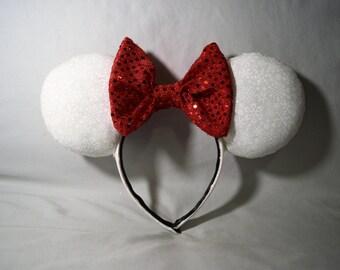 Winter Wonderland Minnie Mouse Ears