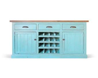 Sideboard, Wine Cabinet, Reclaimed Wood, Buffets, Wine Server, Console Cabinet, Handmade, Rustic