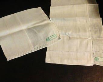 Fresh Irish Linens hankerchiefs