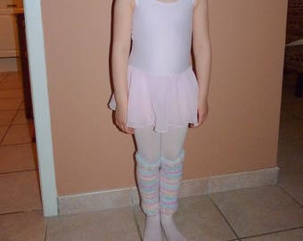 Little Ballerina Leg Warmers Knitting Pattern PDF
